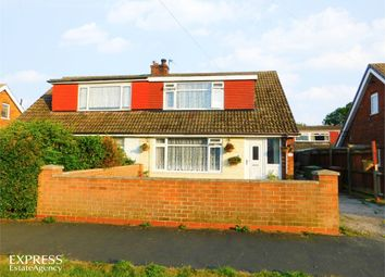 Thumbnail 2 bed semi-detached bungalow for sale in Hawkins Way, South Killingholme, Immingham, Lincolnshire