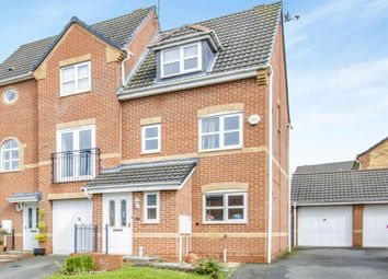 Thumbnail 4 bedroom semi-detached house for sale in Pipistrelle Way, Oadby, Leicester