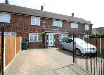Thumbnail 3 bed terraced house for sale in Hadrian Way, Staines-Upon-Thames, Surrey