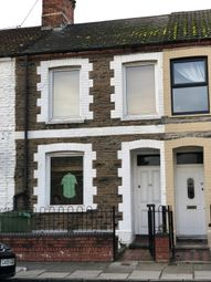 Thumbnail 3 bed terraced house for sale in Dalton Street, Cathays, Cardiff