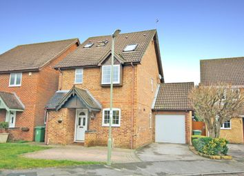 Thumbnail 4 bedroom detached house for sale in Hill Croft, Titchfield, Fareham