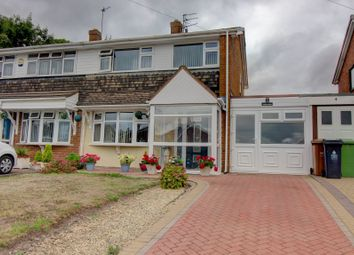Thumbnail 3 bed semi-detached house for sale in Poukhill Close, Walsall