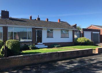 Thumbnail Semi-detached bungalow for sale in Burnside, Lanchester