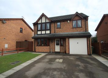 Thumbnail 4 bed detached house for sale in Ellison Close, Stoney Stanton, Leicester
