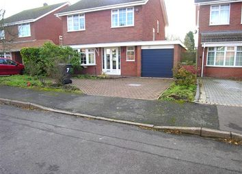 Thumbnail 4 bed detached house for sale in Holly Drive, Hurley, Atherstone
