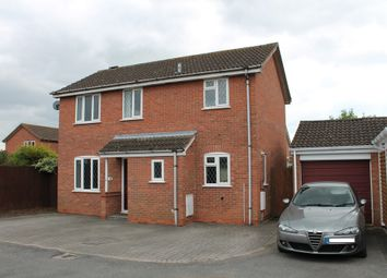 Thumbnail 3 bed detached house for sale in Marigold Close, Worcester, Worcester