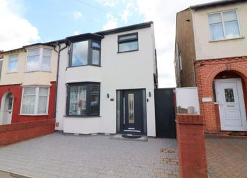 Thumbnail 4 bed semi-detached house for sale in Connaught Road, Luton, Bedfordshire