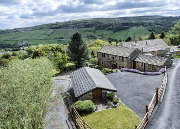 Thumbnail 4 bed barn conversion for sale in Knowsley Barn, Scammonden Road, Barkisland