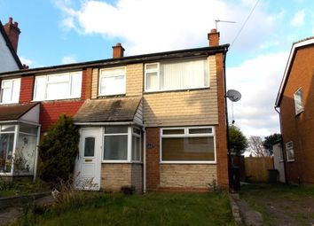 Thumbnail 3 bedroom semi-detached house for sale in Manor Road, Stechford, Birmingham