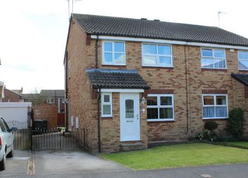 Thumbnail 3 bed semi-detached house for sale in Yew Tree Close, Selby