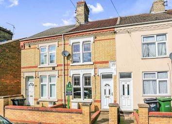 Thumbnail 3 bed terraced house for sale in Percival Street, West Town, Peterborough