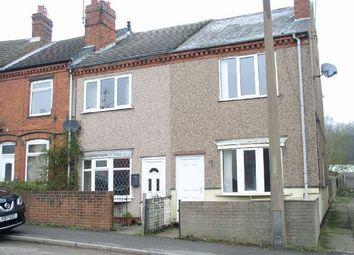 Thumbnail 2 bed end terrace house for sale in Main Road, Pye Bridge, Alfreton