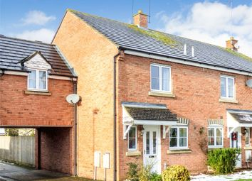 Thumbnail 3 bed end terrace house for sale in Corncrake Way, Bicester, Oxfordshire