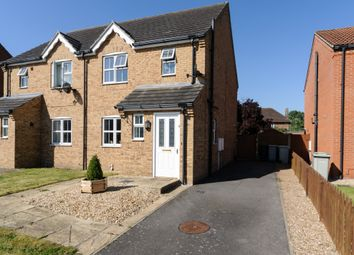 Thumbnail 3 bed semi-detached house for sale in The Covert, Tattershall, Lincoln
