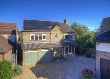 Thumbnail 4 bed detached house for sale in Hobby Close, Hartford, Huntingdon, Cambridgeshire