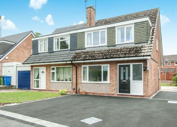 Thumbnail 3 bed semi-detached house to rent in Fairhaven Close, Bramhall, Stockport
