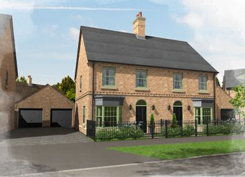 Thumbnail 3 bed semi-detached house for sale in Plot 38, 50 Central Avenue, Brampton Park, Brampton, Huntingdon