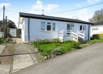 Thumbnail 3 bed mobile/park home for sale in Hogshead Lane, Oakmere, Northwich