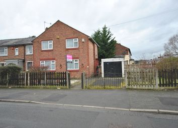 Thumbnail 3 bed end terrace house for sale in Grasmere Crescent, Eccles Manchester