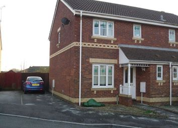 Thumbnail 3 bed semi-detached house to rent in Bryn Gorsedd, Bridgend