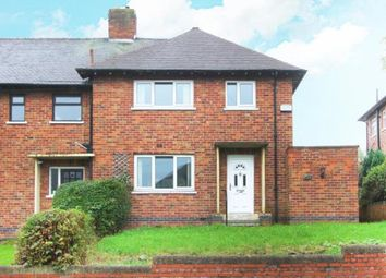 Thumbnail 3 bedroom end terrace house for sale in Manor Park Crescent, Sheffield, South Yorkshire