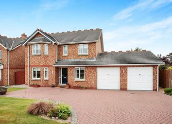 Thumbnail 4 bed detached house for sale in Lowmoor Road, Wigton