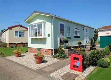 Thumbnail 1 bed mobile/park home for sale in Dengrove Park, Shalloak Road, Broad Oak, Canterbury