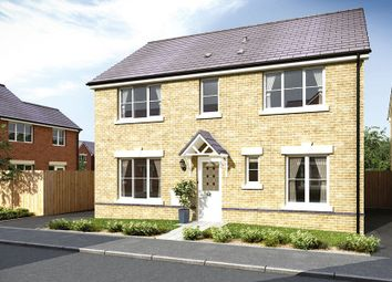 Thumbnail 4 bedroom detached house for sale in The Llancarfan, Waterloo Gardens, Monbank, Newport