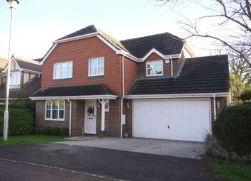 Thumbnail 4 bed detached house to rent in Innings Lane, Warfield, Bracknell
