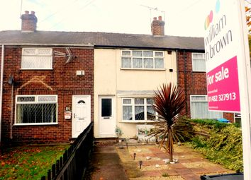Thumbnail 2 bedroom terraced house for sale in Marfleet Avenue, Hull