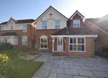 Thumbnail 3 bed detached house for sale in Barbondale Close, Great Sankey, Warrington