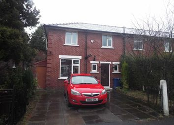 Thumbnail 3 bedroom property for sale in Dudley Avenue, Whitefield, Manchester