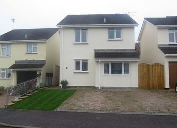 Thumbnail 3 bedroom detached house for sale in Wrefords Close, Exeter