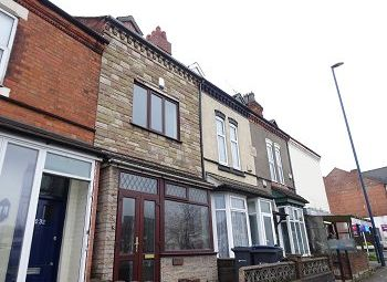 Thumbnail 3 bed terraced house to rent in Pershore Road, Stirchley, Birmingham