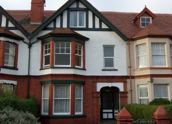 Thumbnail 1 bed flat to rent in Howard Road, Llandudno