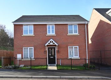 Thumbnail 4 bed detached house for sale in Bluebell Wood Lane, Clipstone Village, Mansfield