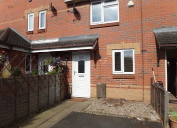 Thumbnail 2 bed terraced house to rent in Benskins Oval, Leicester
