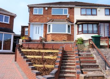 Thumbnail 3 bed semi-detached house for sale in Calverton Grove, Great Barr, Birmingham