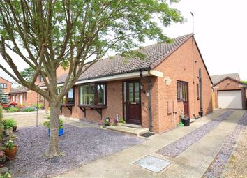 Thumbnail 2 bed semi-detached bungalow for sale in Hailgate Close, Howden, Goole