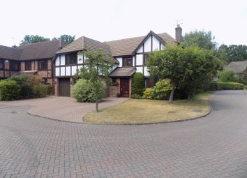 Thumbnail 5 bed detached house to rent in Lansdowne Road, Frimley, Camberley, Surrey
