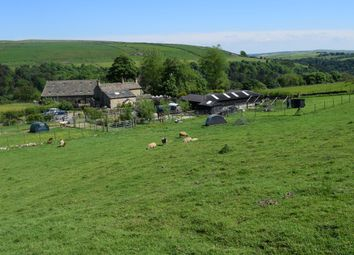 Thumbnail 4 bed detached house for sale in Charlestown, Hebden Bridge