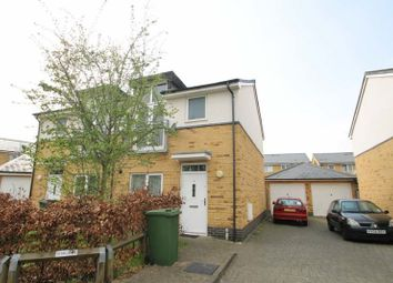Thumbnail 3 bed semi-detached house to rent in Fairclough Close, Northolt, Middlesex