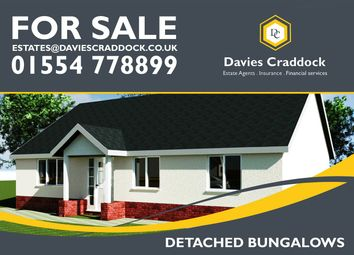 Thumbnail 3 bed bungalow for sale in Heol Y Meinciau, Carmarthenshire, Carmarthenshire