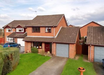 Thumbnail 4 bed detached house for sale in Blaizefield Close, Woore, Cheshire