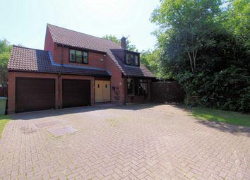 Thumbnail 4 bed detached house for sale in Harvard Close, Giffard Park, Milton Keynes