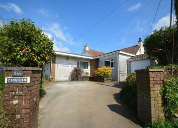 Thumbnail 4 bed detached bungalow for sale in Trevingey Road, Trevingey, Redruth, Cornwall