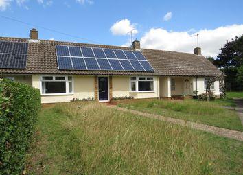 Thumbnail 2 bedroom terraced bungalow for sale in The Links, Flempton, Bury St. Edmunds