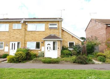 Thumbnail 3 bed semi-detached house to rent in Corbett Road, North Walsham