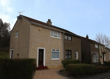 Thumbnail 2 bedroom semi-detached house for sale in Faskin Road, Glasgow, Lanarkshire