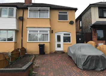 Thumbnail 3 bed semi-detached house to rent in Ansell Road, Erdington, Birmingham